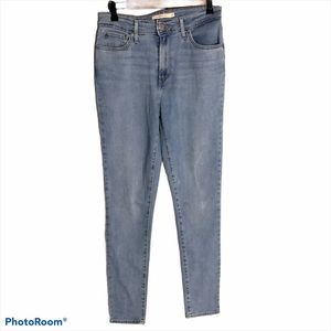 Levi's 721 High Rise Skinny Stretch Jeans Size 29